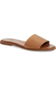 Hinge 'Mere' Flat Slide Sandal (Women) available at #Nordstrom