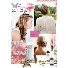 """""""Hopeless Romantic Hair"""" by lovelypao on Polyvore"""