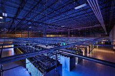 Serverraum in einem Google-Datenzentrum in Council Bluffs, Iowa: In solchen...