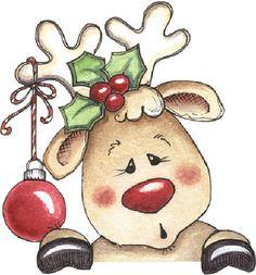 Christmas Fun and Games - morchin - Picasa Web Albums Christmas Blocks, Christmas Canvas, Christmas Art, Christmas Projects, Holiday Crafts, Vintage Christmas, Christmas Decorations, Christmas Ornaments, Christmas Raindeer