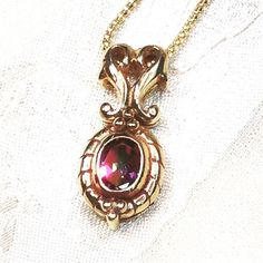 Mystic Topaz Necklace In Golden Jeweler's Copper November
