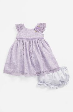 Pippa & Julie Lace Dress & Bloomers (Baby Girls) | Nordstrom