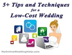 Use the Internet to save money on the wedding. Here are several approaches to take when planning your dream wedding on a limited budget.