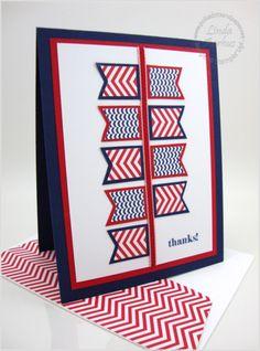 4/2/2014; Linda Aarhus at 'Polka Dots and Paper' website; Lots of Thanks stamp set; Banner punch