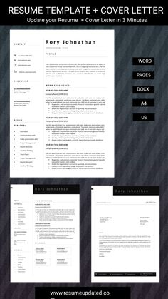 Cover Letter Format, Cover Letter For Resume, Cover Letter Template, Letter Templates, Modern Cv Template, Best Resume Template, Quotation Template Word, Cv Words, Curriculum Vitae Template