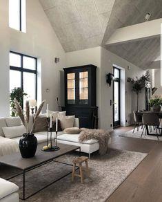 Loft Inspiration // Loft Interior The Perfect Scandinavian Style Home Dream Home Design, Home Interior Design, Interior Plants, Interior Modern, Interior Colors, Home Living Room, Living Room Designs, Kitchen Living, Kitchen Decor