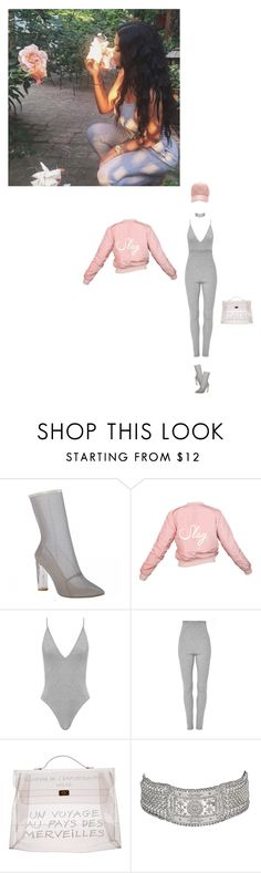 """""""SLAY FIT"""" by ayabelle ❤ liked on Polyvore featuring Apiece Apart and Hermès"""