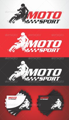 1000 images about sports logo on pinterest sports logos for Motosport templates