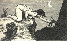 Martin Van Maele - 1911 - Illustrations pour La Sorcière de Jules Michelet