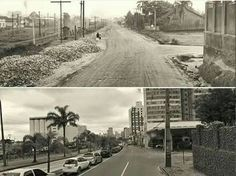 1952, Avenida Capanema, hoje Av. Affonso Camargo.