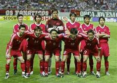 China team group at the 2002 World Cup Finals.