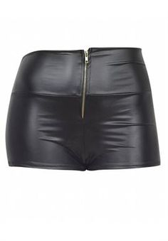 Fashion Love Plus Size Pleather Shorts