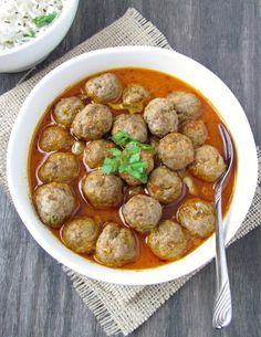 Curry Mutton Meatballs - Goat Meat Recipe