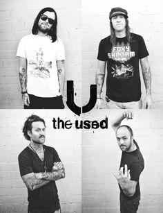 The Used love them for their lyrics & powerful music. Music Film, Indie Music, Music Is Life, My Music, Bert Mccracken, Love Band, Artist Album, My Chemical Romance, My People