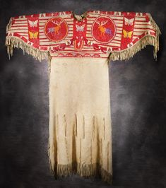Lot:215: Sioux Quilled Pictorial Dress, Lot Number:215, Starting Bid:$15000, Auctioneer:High Noon Western Americana, Auction:215: Sioux Quilled Pictorial Dress, Date:02:00 PM PT - Jan 29th, 2011