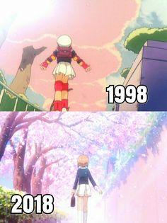 Comparativa Sakura: 20 años después