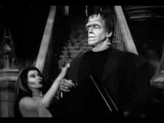I loved the Munsters because the thought they were so normal.  It was the rest of the world that was crazy.  Some Munsters trivia. Eddie's pet dragon that lived under the stairs was named Spot. Eddie's stuffed wolf was named Woof-Woof.