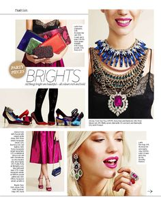 Bright accessories to liven up any outfit. Shot by Annie Bundfuss for Notebook magazine. Hair by Jason Crozier of CrozNest in residence at No74 Hair & Beauty London.
