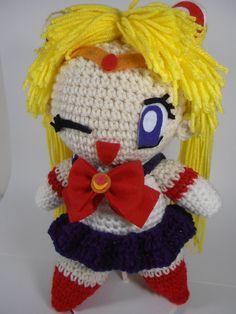 Sailormoon Crochet Doll - Ready to Ship