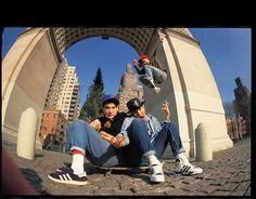Glen E. Friedman's Photo of Beastie Boys makes me happy.