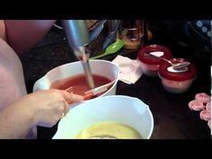Making Cold Process Facial Soap - YouTube