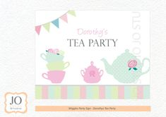 Wiggles Themed Party Sign / Dorothy's Tea Party by JoStudioPartyPaperie / Complete Printable Collection for a Wiggles Birthday Party by JoStudioPartyPaperie / Kids Party / Wiggles Birthday Party / Kids Parties / Stationery / Jo Studio / The Wiggles / Red Blue Purple Yellow / Printables by Jo Studio Styling by Lola and Co Party Styling