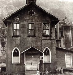 Mount Olive Baptist Church Stirrat, Logan County, WV-1970--IMWVCT