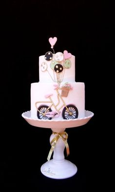 ♫ I want to ride my bicycle... - Cake by Cake Heart