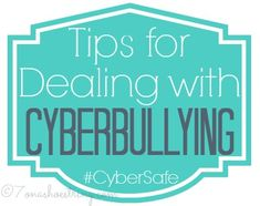 In this article, it describes the steps or tips for Dealing with Cyberbullying #CyberSafe so that it can be prevented to do further damage. These steps were 1.Save the evidence, 2. Remain civil, 3. Block the bully, 4. Tell a trusted adult, and 5. Report threats to police.