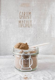 Homemade Garam Masala (vegan)
