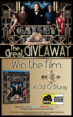 Win #TheGreatGatsby from @Movie Room Reviews - #PinItToWinIt  http://movieroomreviews.com/mrrs-great-gatsby-giveaway