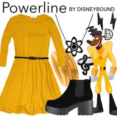 DisneyBound is meant to be inspiration for you to pull together your own outfits which work for your body and wallet whether from your closet or local mall. As to Disney artwork/properties: ©Disney Disney Mickey Ears, Disney Fun, Disney Style, Walt Disney, Mickey Mouse, Disney Bound Outfits, Disney Dresses, Disney Clothes, Disney Inspired Fashion