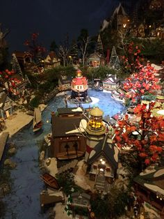Department 56 New England display