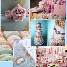french parisian marie antoinette cake party inspiration