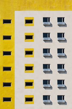 digital art, rhea gupte, building, panim, photography, digital manipulation, windows, architecture, yellow inspiration, color block, muted palette, happy