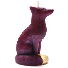 Frederic The Fox Candle (49 CAD) ❤ liked on Polyvore featuring home, home decor, candles & candleholders, filler, decor, objects, fragrance candles, colored candles, fox home decor and scented candles