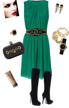 """""""Green with Envy"""" by patriciadelisha on Polyvore"""