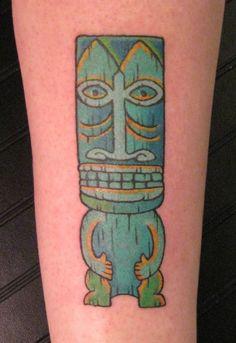 Shag inspired Tiki Tattoo