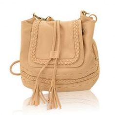 $14.00 Retro Style Women's Crossbody Bag With Tassels and Weaving Design