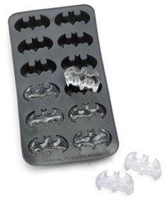batman ice cubes! oh yeah!
