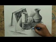 Still Life with pencil by artist sikander singh.m4v, video
