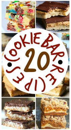 20 Cookie Bar Recipes