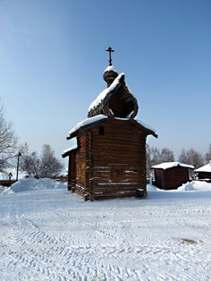 Kazanskaya Chapel, built in 1679 is the oldest in Siberia orthodox church.