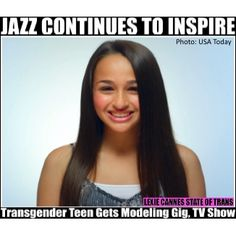Jazz Jennings Urges Transgender Teens To Love Themselves