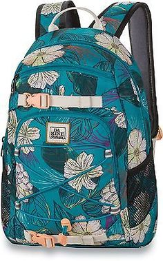 Other Skateboarding Clothing 159079: Dakine Girl S Grom Backpack Pualani Blue One Size 13L -> BUY IT NOW ONLY: $43.5 on eBay!