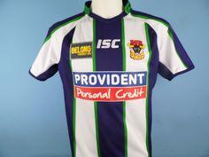 Authentic Bradford Bulls Alternative/Away Rugby Shirt 2014-15 Size Medium ISC