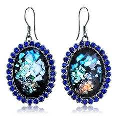 Aliexpress.com : Buy Factory Direct Jewelry Wholesale Resin Vintage Rhinestone Drop Earrigs Evening Dress Accessories Free shipping HS A0070 from Reliable Earrings suppliers on Hopenhagen store