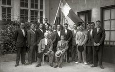 Bandera de la Concha año 1930. Kutxateka.