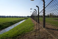 Elektrozaun um Birkenau – Wander Dude Railroad Tracks, Wander, Sidewalk, Walkway, Walkways