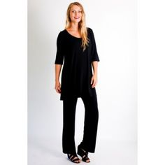 Bodypeace Bamboo Straight Leg Pants: $99.95 #travelclothes